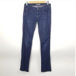 hudson jeans straight leg flap pocket 26